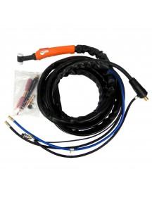 Горелка Foxweld UnoTIG-18-Flex 4м (35мм2,кноп, ж/о)