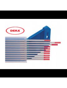 Вольфрамовый электрод DEKA WT-20 красный 2,4 мм (20 шт в уп.)