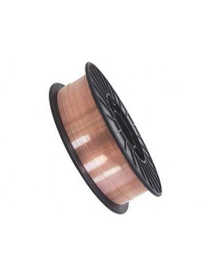 Омедненная сварочная проволка в катушках DEKA ER 70S-6 (Св08Г2С) (Катушка; Ø 0,8 мм.; 5кг)