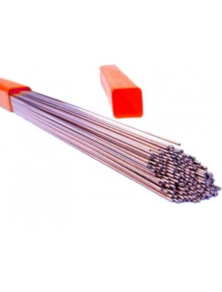 Сварочный пруток из нержавеющей стали DEKA ER 308 Lsi (Св-04Х19Н9) (Коробка; Ø 2,4 мм.; 5кг)