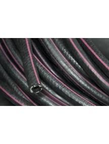 Рукав  газовый ф. 9,0 мм (черный с красной полосой)